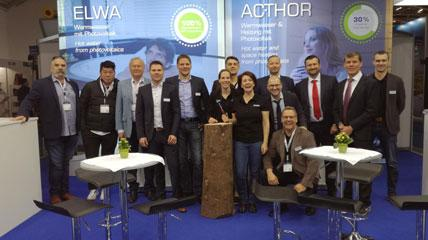 Gruppenfoto Intersolar News